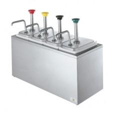 Дозатор для соусов на 4 емкости SB-4 83700
