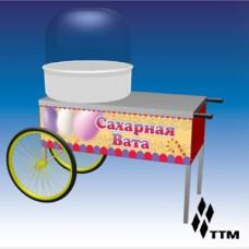 Тележка для аппарата для приготовления сахарной ваты ТАСВ-110СК