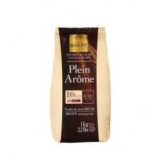 Какао – порошок «Plein Arome» коричневый 22-24% 1 кг жирность Cacao-Barry