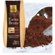Какао – порошок «Extra-brute» темно-красный 22-24% жирность Cacao-Barry