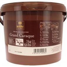 Какао масса без сахара 100%, 3 кг галеты Cacao Barry